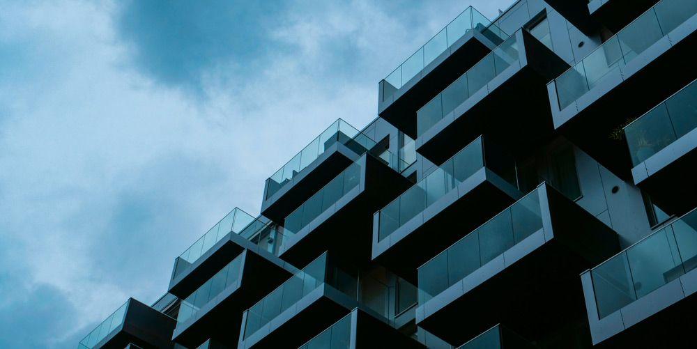 bloque de pisos minimalista de Oslo