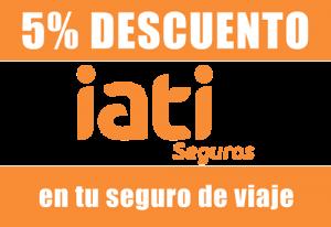 logotipo de Iate para obtener descuentos en seguros de viaje