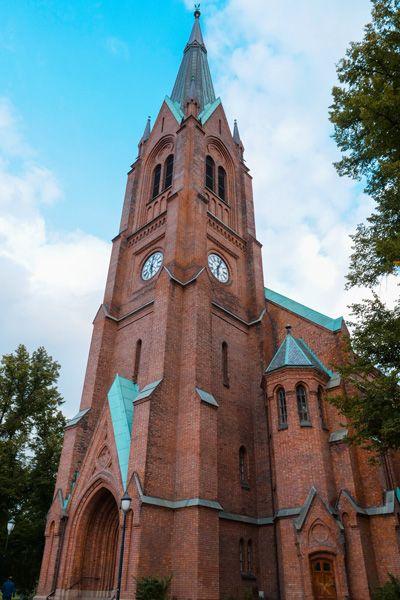 iglesia estilo actual noruega