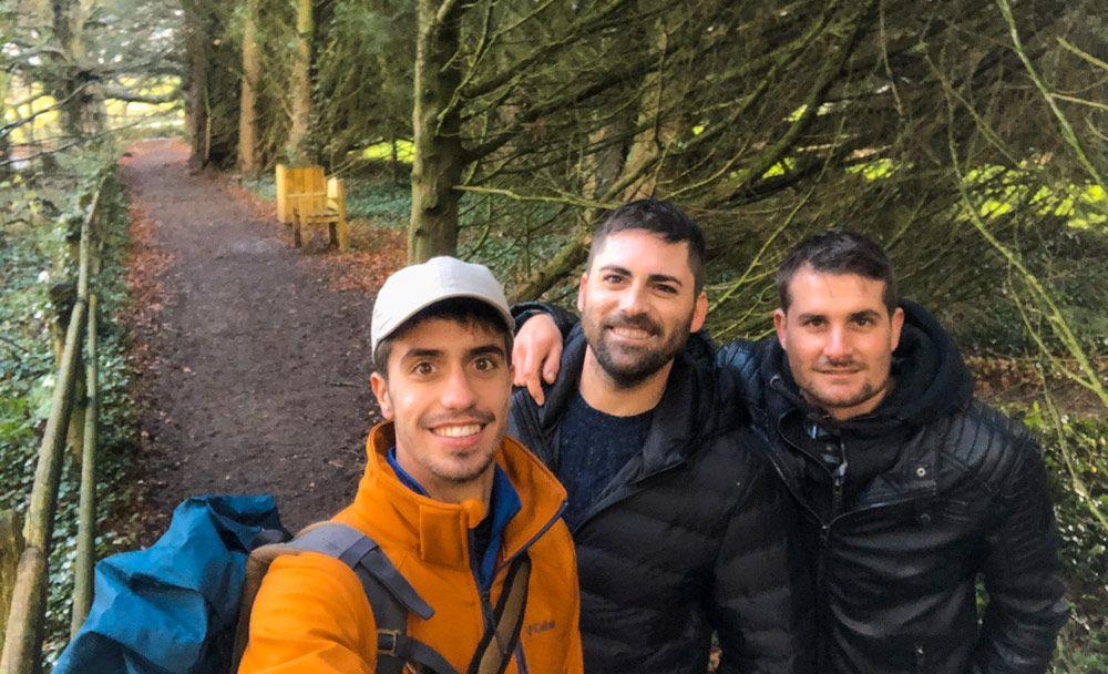 Selfie en el bosque de The Dark Hedges