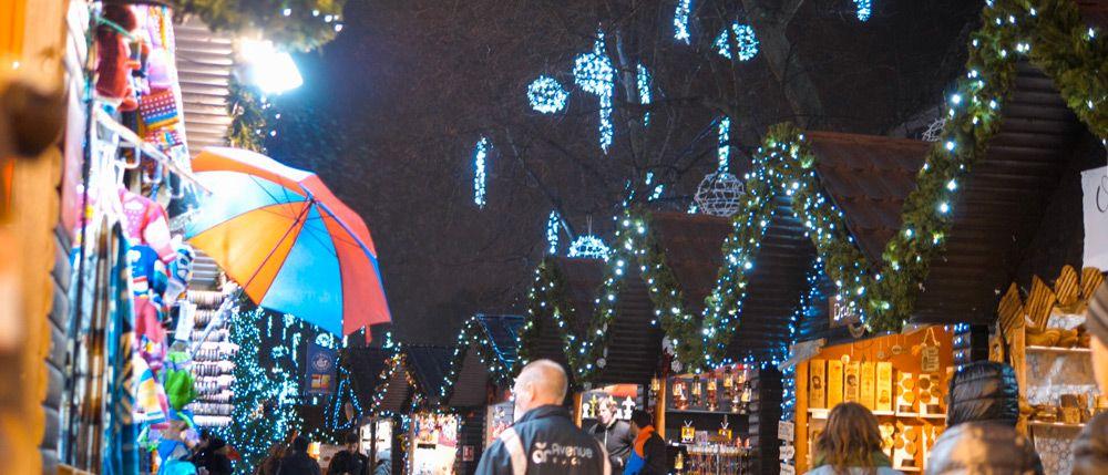 Mercado de navidad de Belfast