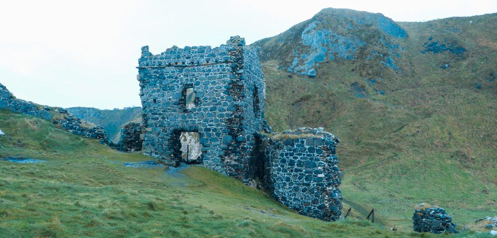 Torre de Kinbane Castle