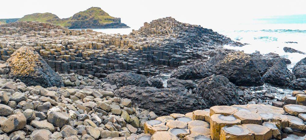 Giant's Causeway con sus incontables columnas