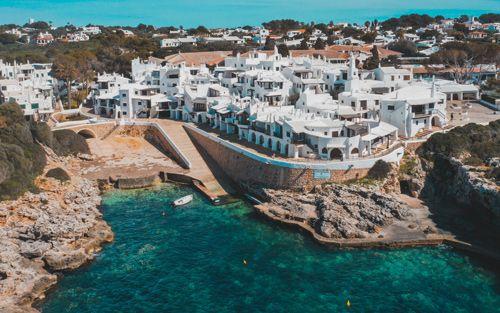 binibeca, el mejor pueblo de menorca