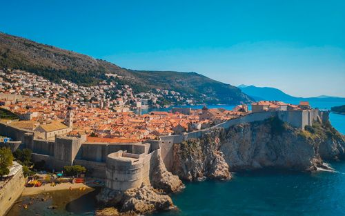 Panorámica del casco antiguo de Dubrovnik
