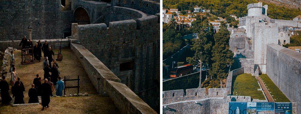 Murallas de Dubrovnik donde rodarn Juego de Tronos