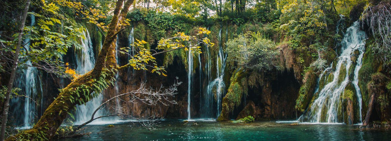 Cascadas Lagos Plitvice de Croacia