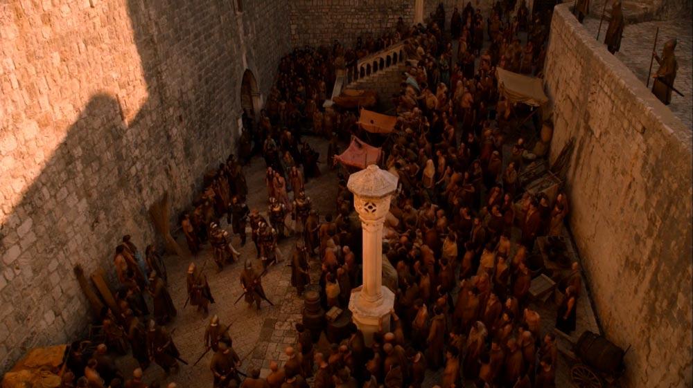 Entrada de la puerta de Pile que sirvió de escenario de Juego de Tronos en Dubrovnik