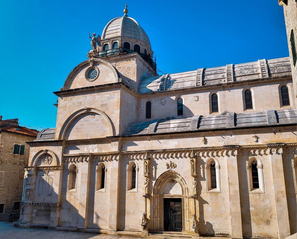 Catedral de Santiago a Sibenik per descobrir Croàcia en 6 dies