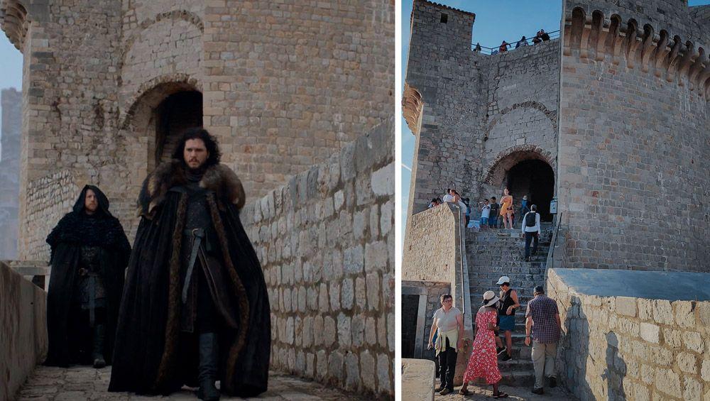 Torre Minceta donde grabaron escenas de Juego de Tronos en Dubrovnik