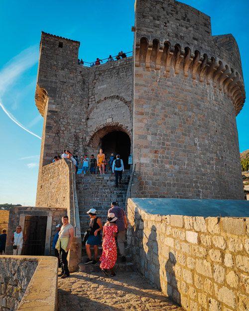 Fuerte de las murallas de Dubrovnik