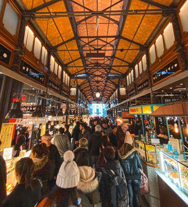 Llegar al Mercado de San Miguel de Madrid es muy fácil