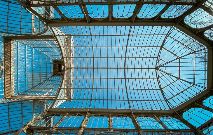 visita al palacio de cristal de madrid
