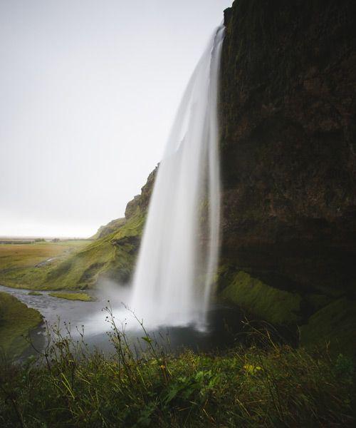 donde está la cascada seljalandsfoss de islandia