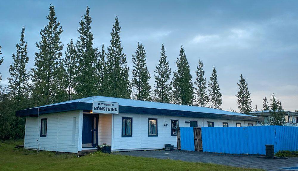 Nuestro guesthouse es el mejor sitio donde dormir barato en Islandia