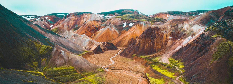 Imagen de landamannalaugar de nuestra guia de viajes a islandia baes