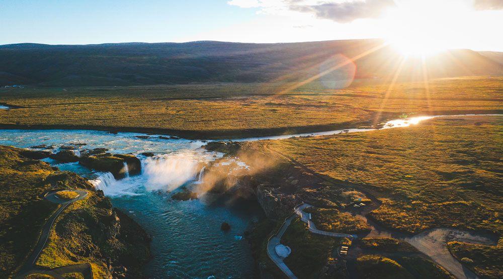 Las horas de Sol de Islandia es de lo más curioso del país