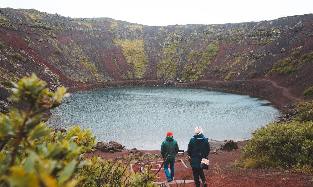 interior de kerid crater