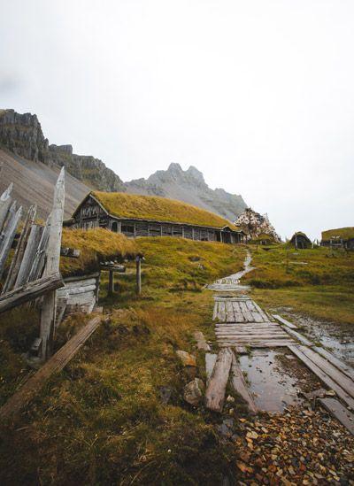como llegar al poblado vikingo de stoksness de Islandia