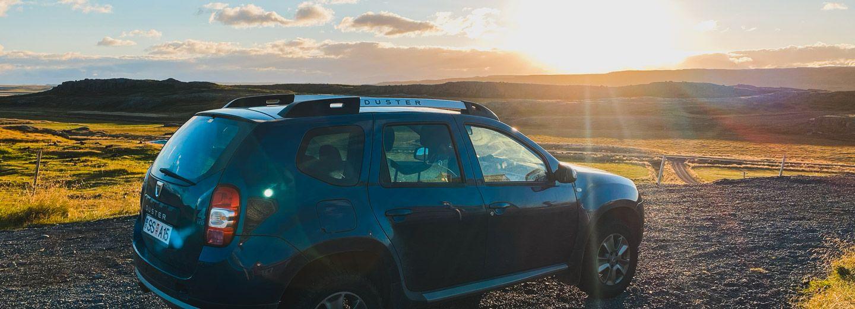 como moverse por islandia, alquiler de coche