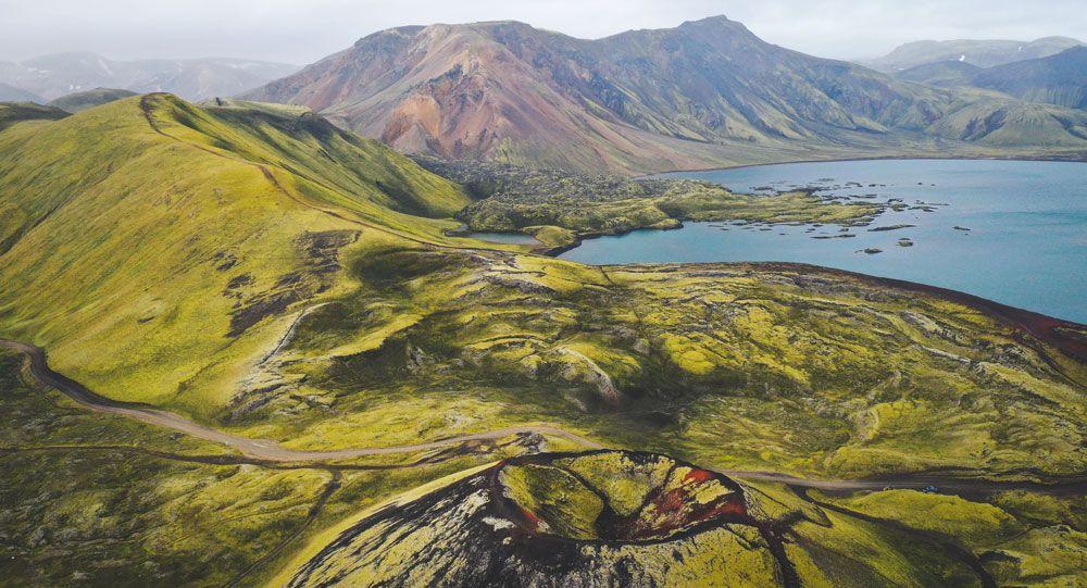Llegar a las tierras altas de Islandia