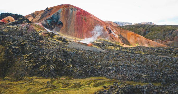 Cuando están abiertas las tierras altas de islandia