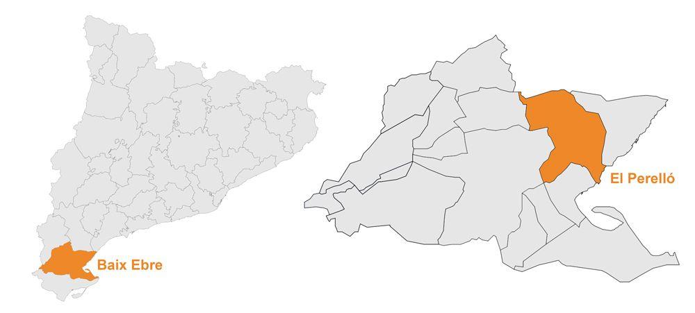 mapa del perelló