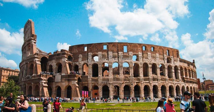 Coliseo de Roma desde el exterior