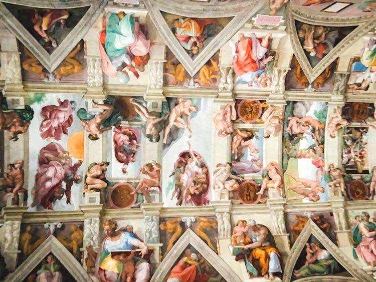 Capilla Sixtina de los museos del Vaticano