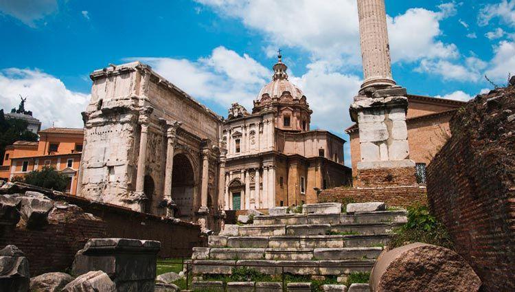 Los restos más antiguos de Roma
