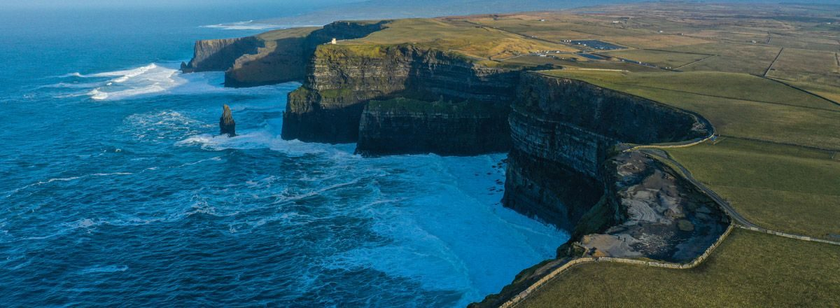 Cliffs of Moher desde el aire